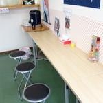麺屋竜二 - カウンター席