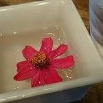 43584122 - テーブルに一輪の花