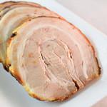 川原精肉店 - 美味しい焼き豚でした。
