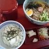 安曇野 - 料理写真:そば冷麺セット