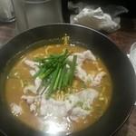 かれー麺 実之和 - カレー麺(並)
