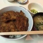 とんかつ ヒロ - 『カツ丼定食』様(550円)※夜は800円でカツ5枚。