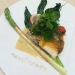 La Cuisine Japonaise 玻璃 - 【真鯛シーフードのポアレ】