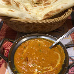 インド・ネパール料理 タァバン - 豆カレーとナン(2015年10月)