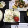 せいきん - 料理写真:鳥の炭火焼定食=880円 ご飯 味噌汁 小鉢 サラダ付