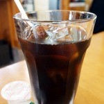 十三うどん - セットで付くドリンクはアイスコーヒーにしました