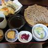 安茂里 - 料理写真:天ざるそば
