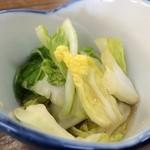 白樺食堂 - 白菜の漬物