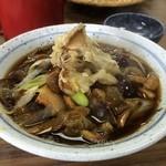白樺食堂 - 天然きのこ蕎麦(1,100円)