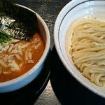 43594316 - 甘海老出汁の味噌チーズつけ麺