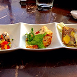 43597213 - Holiday Lunch Course(1,500円)からHoliday Tapas。前菜盛合せ。