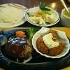 Tomatoandoonion - 料理写真:日替わりランチ754円、サラダバー324円の合計1078円(税込)
