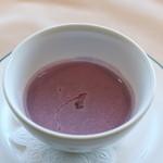 グランファミーユ・シェ松尾 - プレミアム豆乳を使用した本日のポタージュスープ