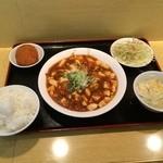 43598283 - 麻婆豆腐定食730円