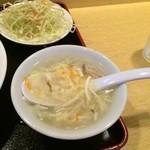43598289 - 定食のスープ