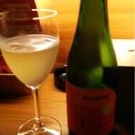 ロクモンセン - ハーフボトルのアップルシードル  2000円