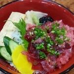 だるま寿司 - ネギトロ穴子丼・・・1800円