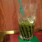 コーヒーハウス・シャノアール - ドリンク写真:アイス抹茶