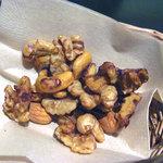 Cafe ALIVE - ナッツの醤油和え