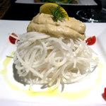 Cafe ALIVE - 大根のパスタカシューナッツソース