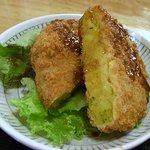 JAPANESE DINING wagamama - 熱々さっくりのコロッケ