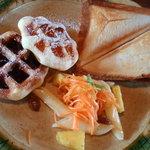 ル・ピニョン - 料理写真:ブランチセット(ドリンク付き)\650-