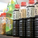 べんけい - べんけい・カウンターの醤油各種(2015.05)