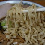 ケンちゃんラーメン - 麺が特徴的。