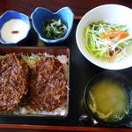 43601772 - たれヒレかつ丼(竹)