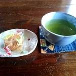 カフェトゥーリー - お茶うけのお菓子(2015/10)