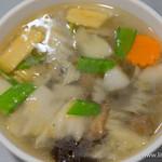 銀座天龍 - 野菜スープ【2015年10月】