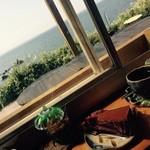 音楽と珈琲の店 岬  - ちょこケーキはナッツ入り!