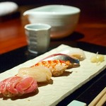 不風流 - 〆のお寿司