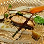 iCas storia - 本日の魚料理:ブリ
