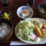 ばんく - 料理写真:日替り定食