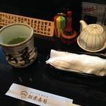 松葉寿司 - (内観)備品①