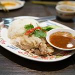 タイ国料理 ゲウチャイ - 2015.10 カオ マン ガイ(1,080円)