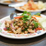 タイ国料理 ゲウチャイ - 2015.10 ラープ ガイ(1,026円)