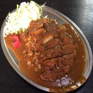 キッチン タイガー - かつカレー(650円)2015年10月