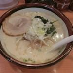 俺流塩らーめん - 俺流熟成塩らーめん麺増し780円