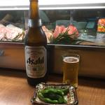 泉坂 - 瓶ビール640円