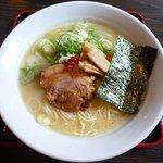 4362415 - 参鶏湯麺・塩 (40食限定・700円)