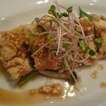 中華ビストロうちだ - 中華ビストロランチのメイン 鶏もも肉の唐揚 油淋ソース