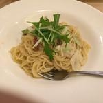 今日和 - 本日のランチ アンチョビとキャベツの塩味パスタ