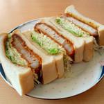 喫茶エーデルワイス - 料理写真:カツサンド 700円