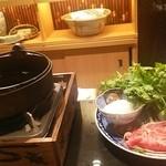 卓楽 - 松阪牛のすき焼き
