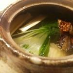 卓楽 - 松茸と鱧の土瓶蒸し