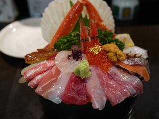 山さん寿司 本店 - 海鮮丼~☆
