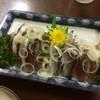 ふじや - 料理写真:イワシ刺身 500円