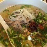ベトナム家庭料理 QUAN AN TAM - 牛肉のフォー